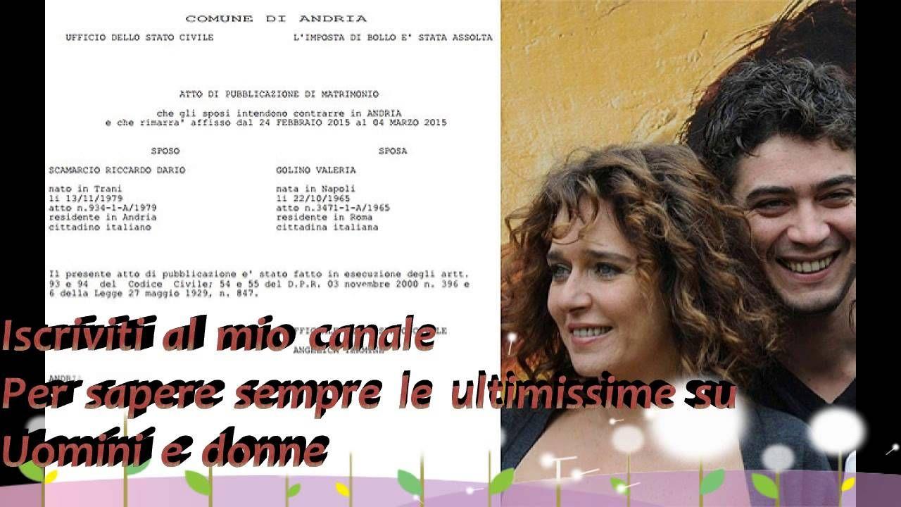 Riccardo Scamarcio e Valeria Golino si sposano