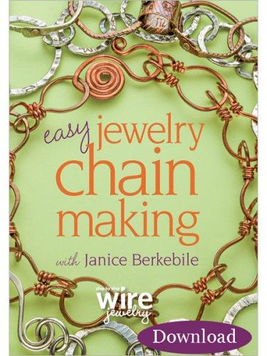 Chain Making Take Wire from Functional to Fabulous, Plus 7 Tips on Caring for Chain - Easy jewelry, Chains jewelry, Jewelry making, Jewelry making tutorials, Cleaning jewelry, Wire jewelry - Since I've been working at Jewelry Making Daily (good times!), I've gained a whole new appreciation for wire  I used to have a pretty specific view of…