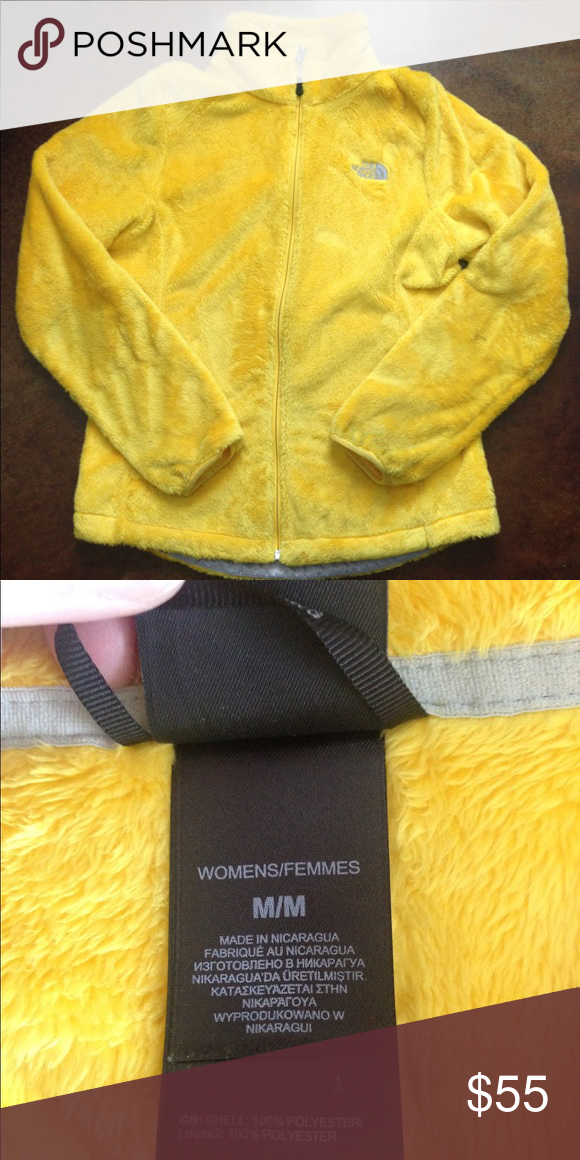 732a1bccab Women s Yellow Northface Jacket - Medium Worn just a couple of times.  Excellent condition North Face Jackets   Coats