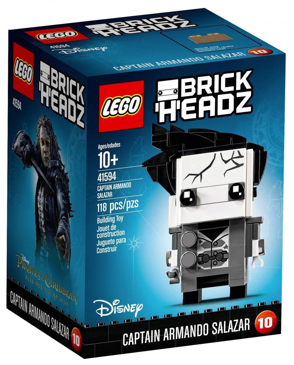 Armando De SalazarGavin Brickheadz Captain Lego 41594 Magasin FJTc3lK1