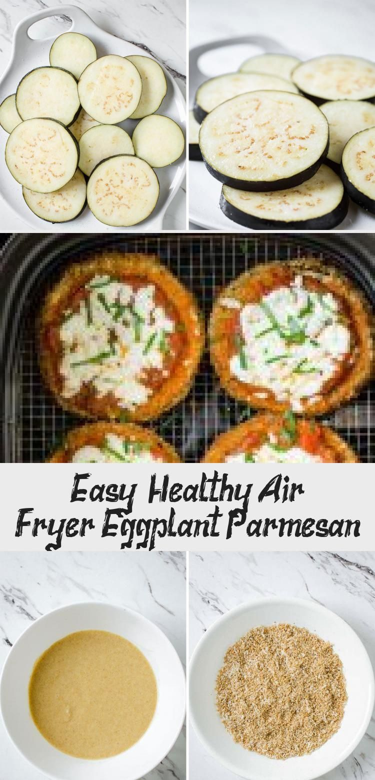eggplant parmesan air fryer eggplant parmesan & eggplant