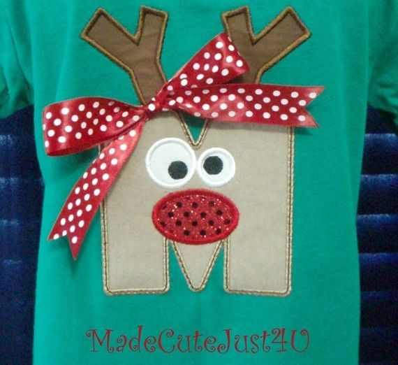 christmas shirt.... Tonette we can make something like this for their pj's this yr!!
