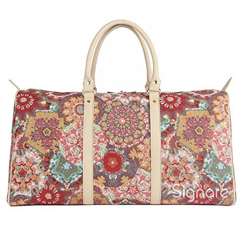 9a5bd1e55e1e Signare Tapestry Holdall Weekenderluggage Bagbig Travel Bag in ...