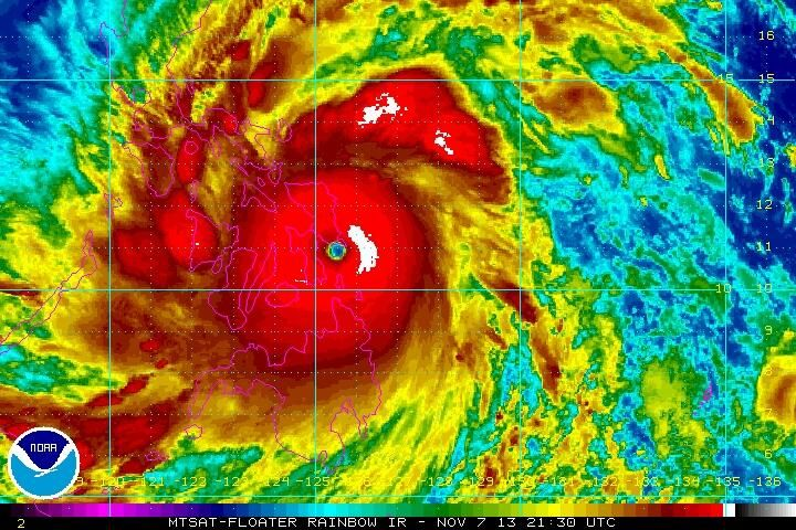 Super Typhoon Haiyan Made Landfall Strongest Landfalling