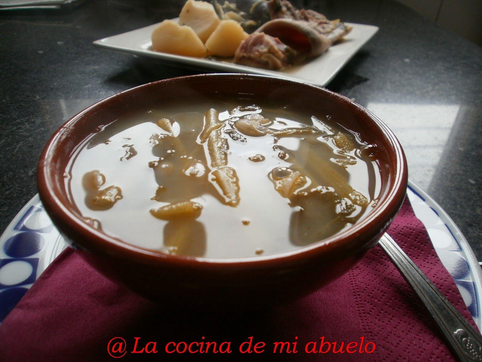 Cocina De Mi Abuelo | La Cocina De Mi Abuelo Caldo Gallego Cocina Cooking Cocinas