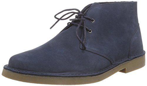 Clarks Farson Mid Herren Desert Boots, Blau (Denim Blue Nubuck), 44.5 - http://on-line-kaufen.de/clarks/44-5-eu-clarks-farson-mid-herren-desert-boots