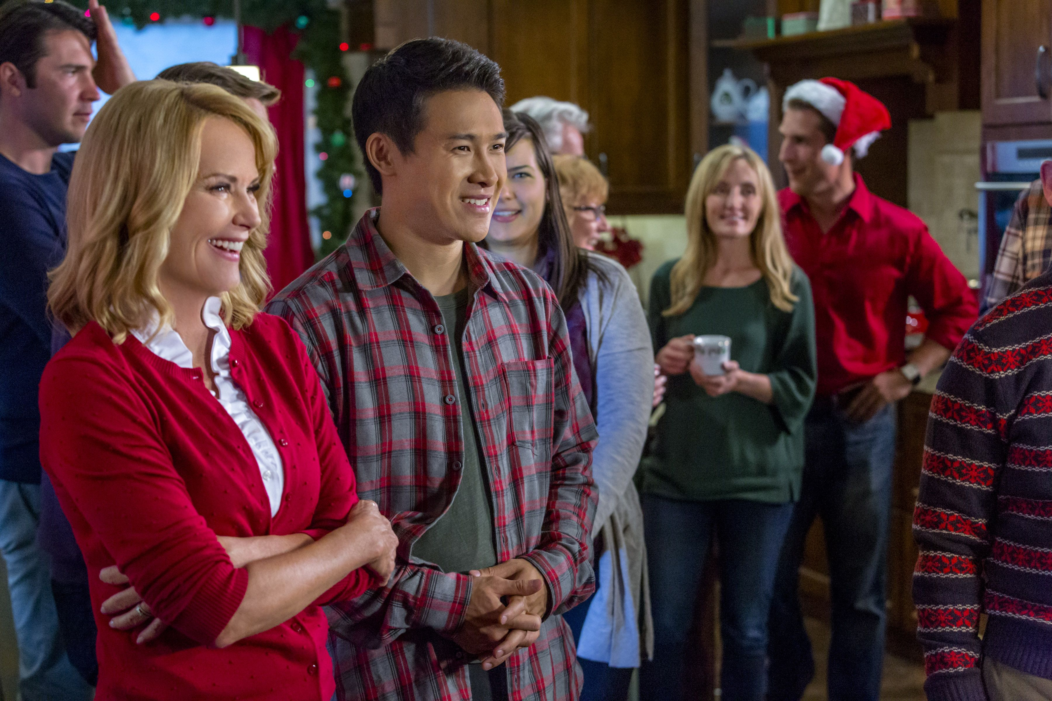 The Road To Christmas.Check Out Photos From The Hallmark Channel Movie Road To