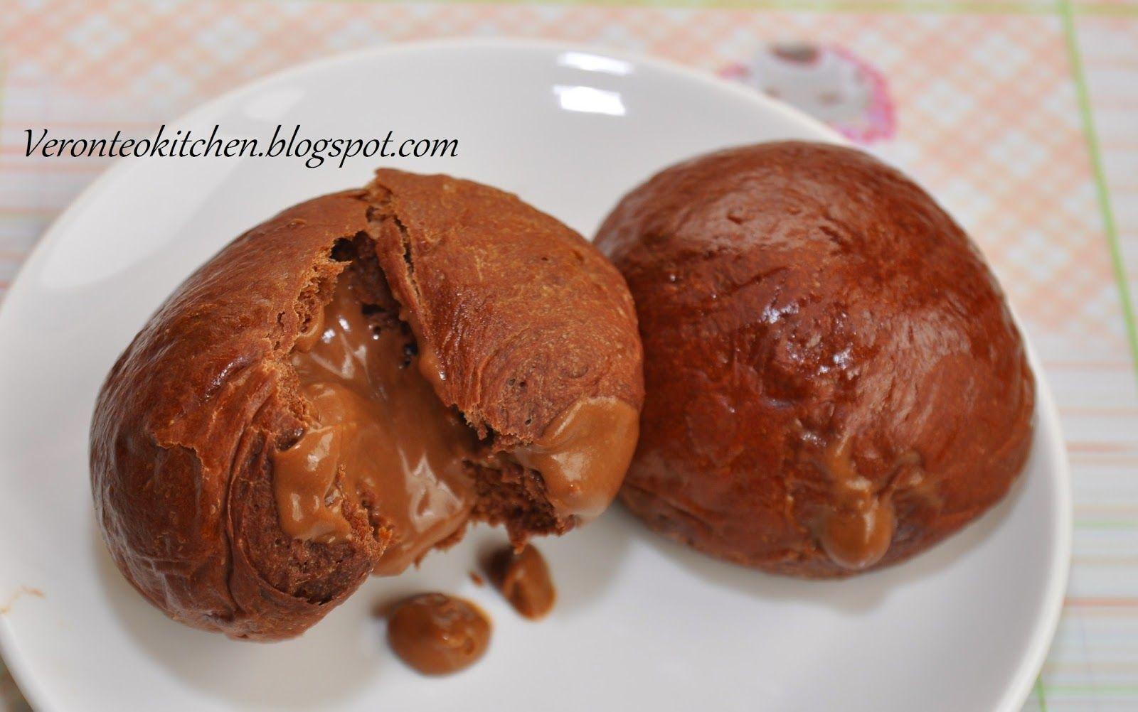 Chocolate molten lava bread 巧克嚛爆浆面圅