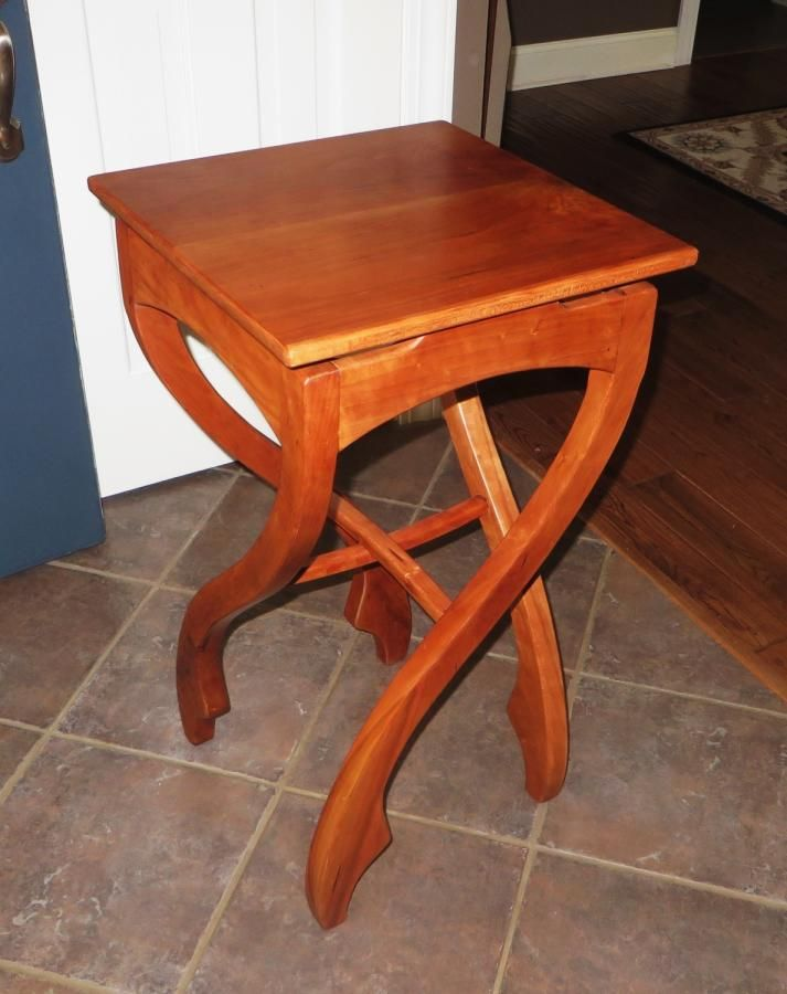 Pirouette Table I Call Crazy Legs By Oldrivers Table Home Decor Woodworking
