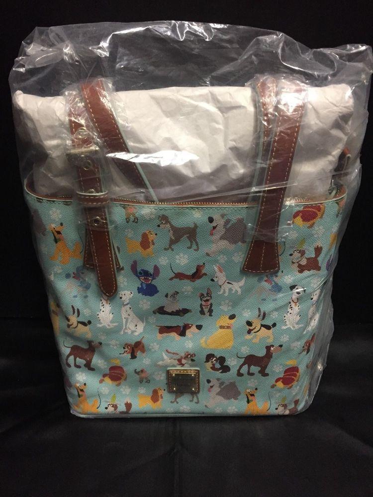 560b7dba258e Disney Dooney Bourke Dogs Emily Tote Lady Tramp Stitch Winston Doug NEW NWT  #Disneyana #Disney #WaltDisney