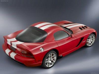 Art print POSTER CANVAS Dodge Viper SRT10-2010