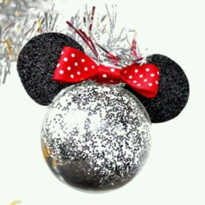 Navidad christmas pinterest navidad esferas y adornos for Adornos navidenos mickey mouse
