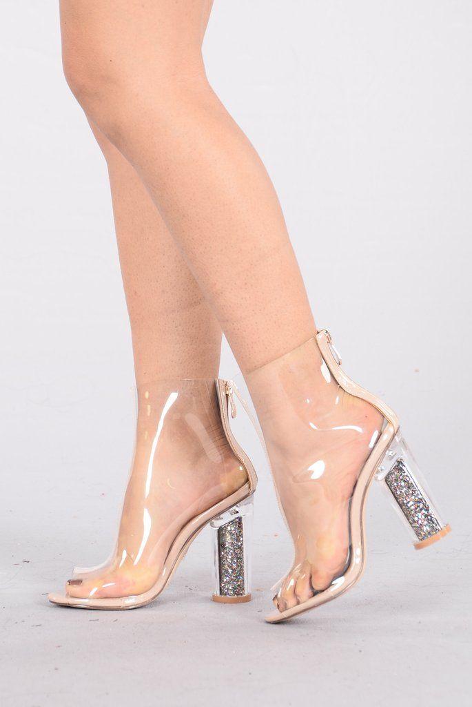 30f17ff7e6f Hidden Surprise Boot - Transparent   Fashion Nova   Shoes   Fashion ...
