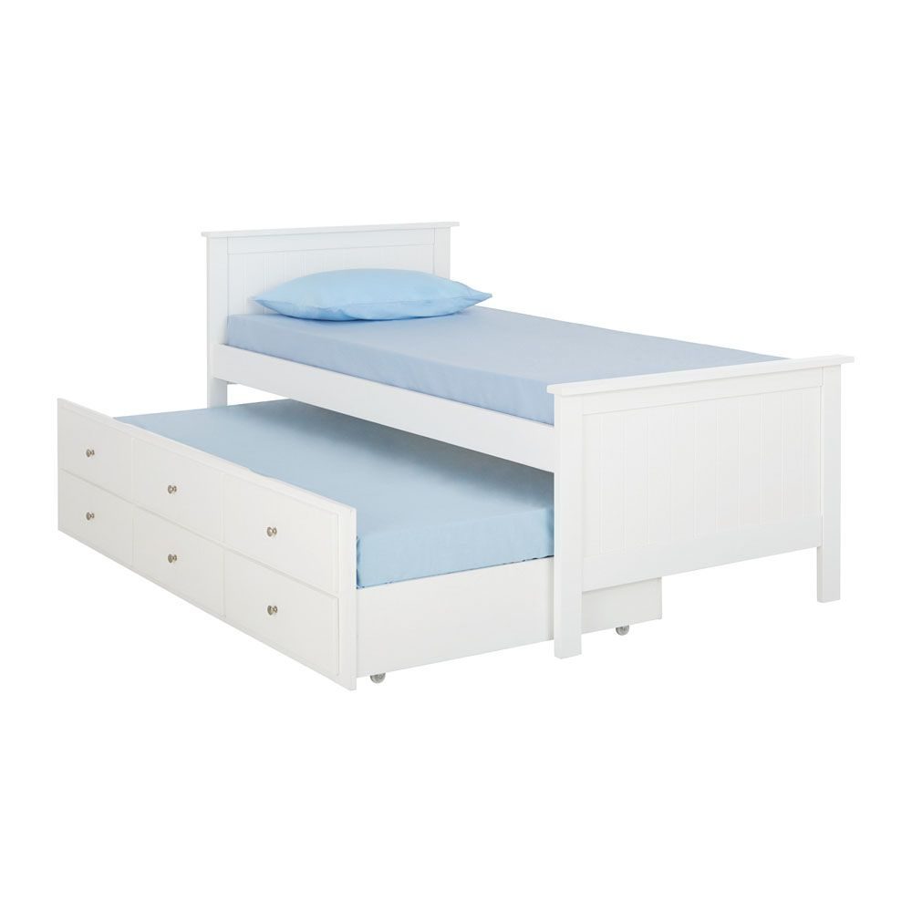 This Stylish Single Bed Is The Perfect Storage And Sleepover