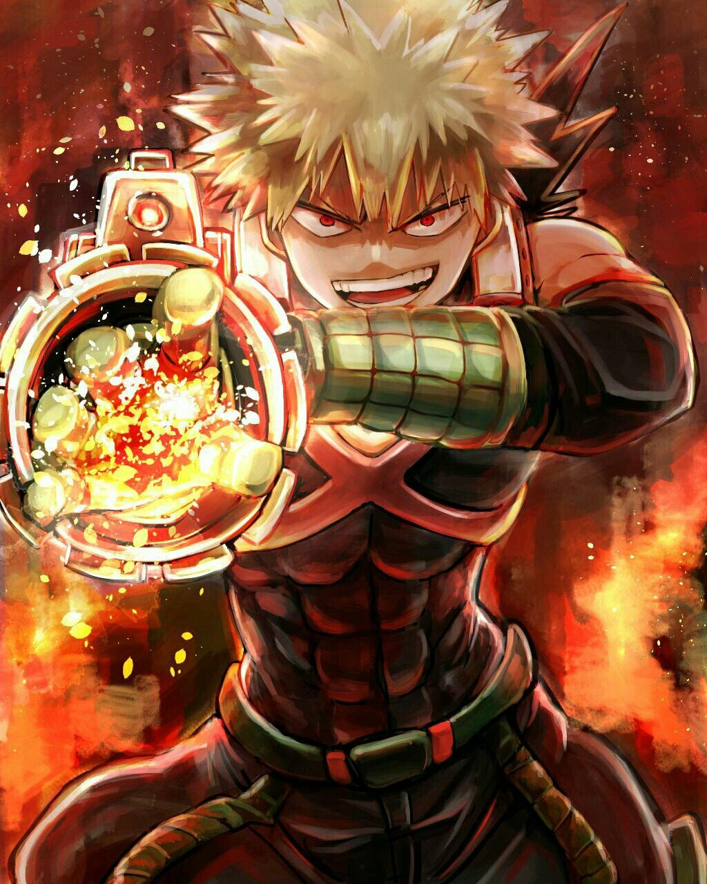 Boku no Hero Academia Katsuki Bakugou, My hero academia