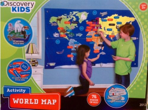 1500 amazon discovery kids activity world map toys games 1500 amazon discovery kids activity world map toys games 55 gumiabroncs Images