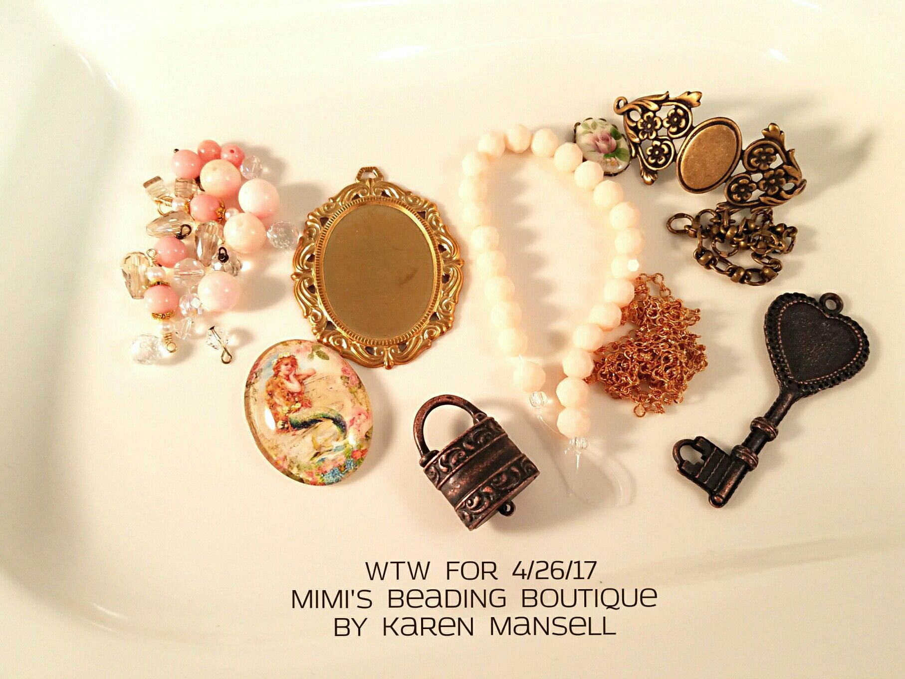 WTW for 4/26/17 Mimi's Beading Boutique  by Karen Mansell