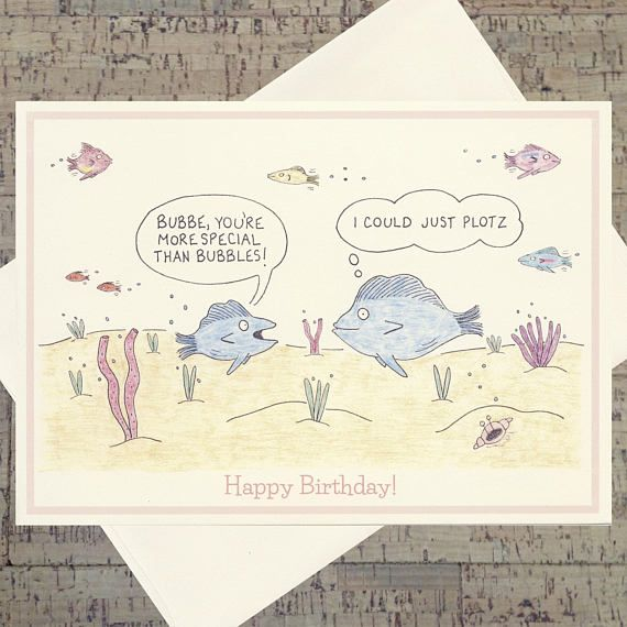 Birthday Card For Grandmom Grandma Jewish Mother Funny Mothers Day Cards
