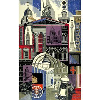 City - Edward Bawden (1952)