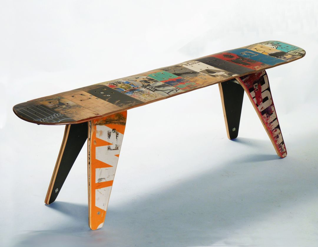Pin By Trend Vogue On Home Ideas Skateboard Furniture Recycled