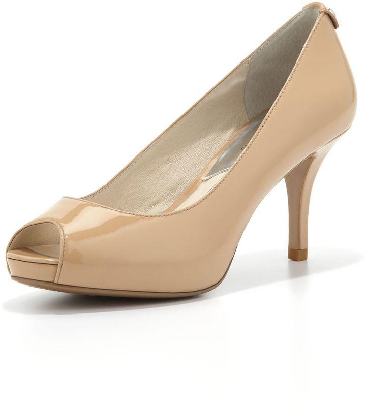 6b508a80bf6 MICHAEL Michael Kors Flex Peep-Toe Pump on shopstyle.com.au | Shoes ...