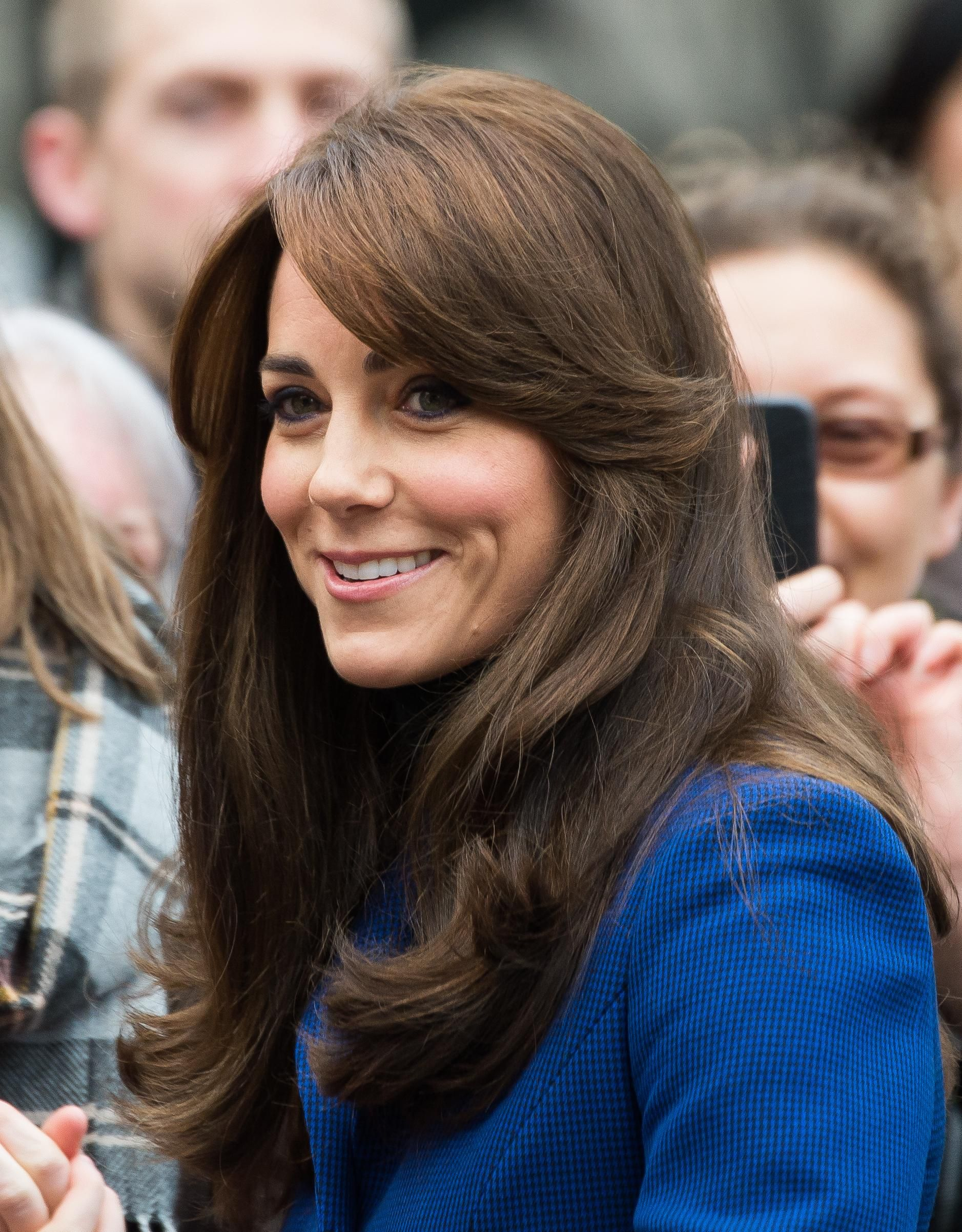 The 30 Most Iconic Fringe Moments Of All Time Kate Middleton Hair Hair Hair Styles