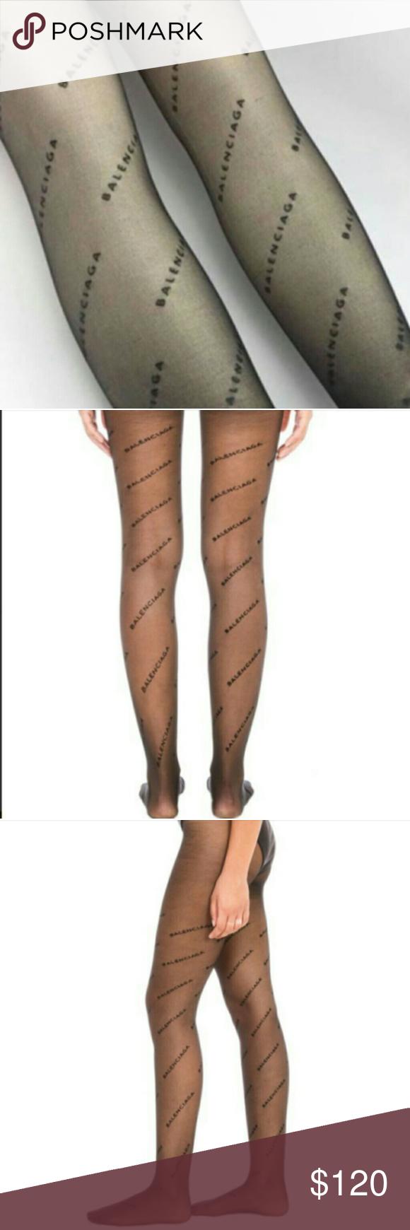 8f1d5404c3797 Black Balenciaga leggings New Balenciaga stockings leggings Same day  shipping Best offer accepted Balenciaga Accessories Hosiery & Socks