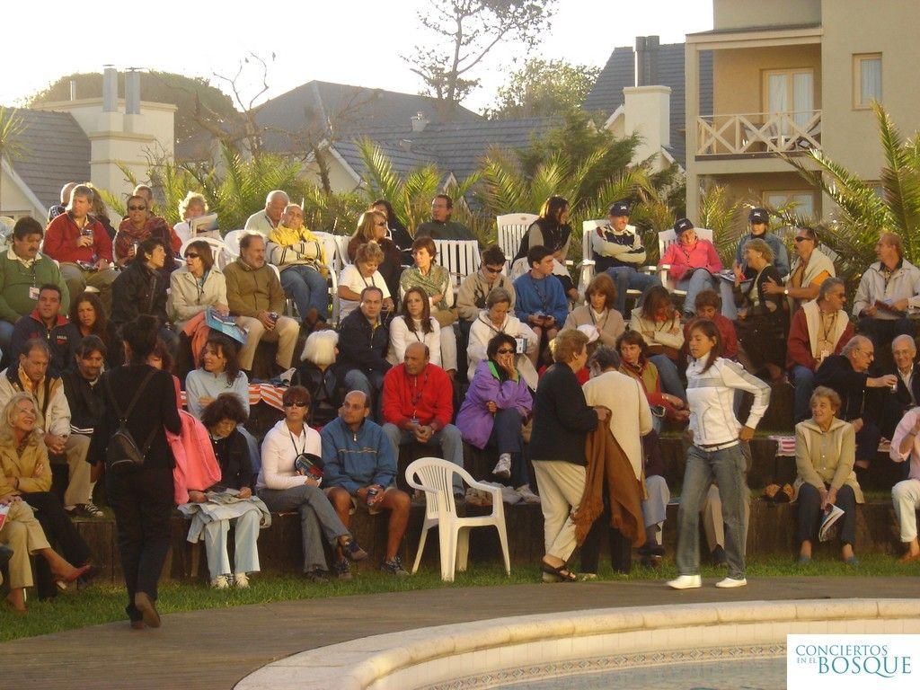 Temporada 2005 de Conciertos en el Bosque. Hotel Marcín en Cariló.
