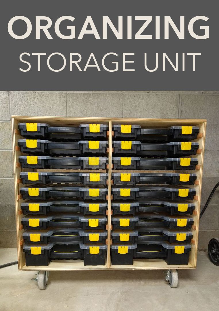 Organizer Bin Storage Unit Hardware Storage Organizing Bins Storage Bins