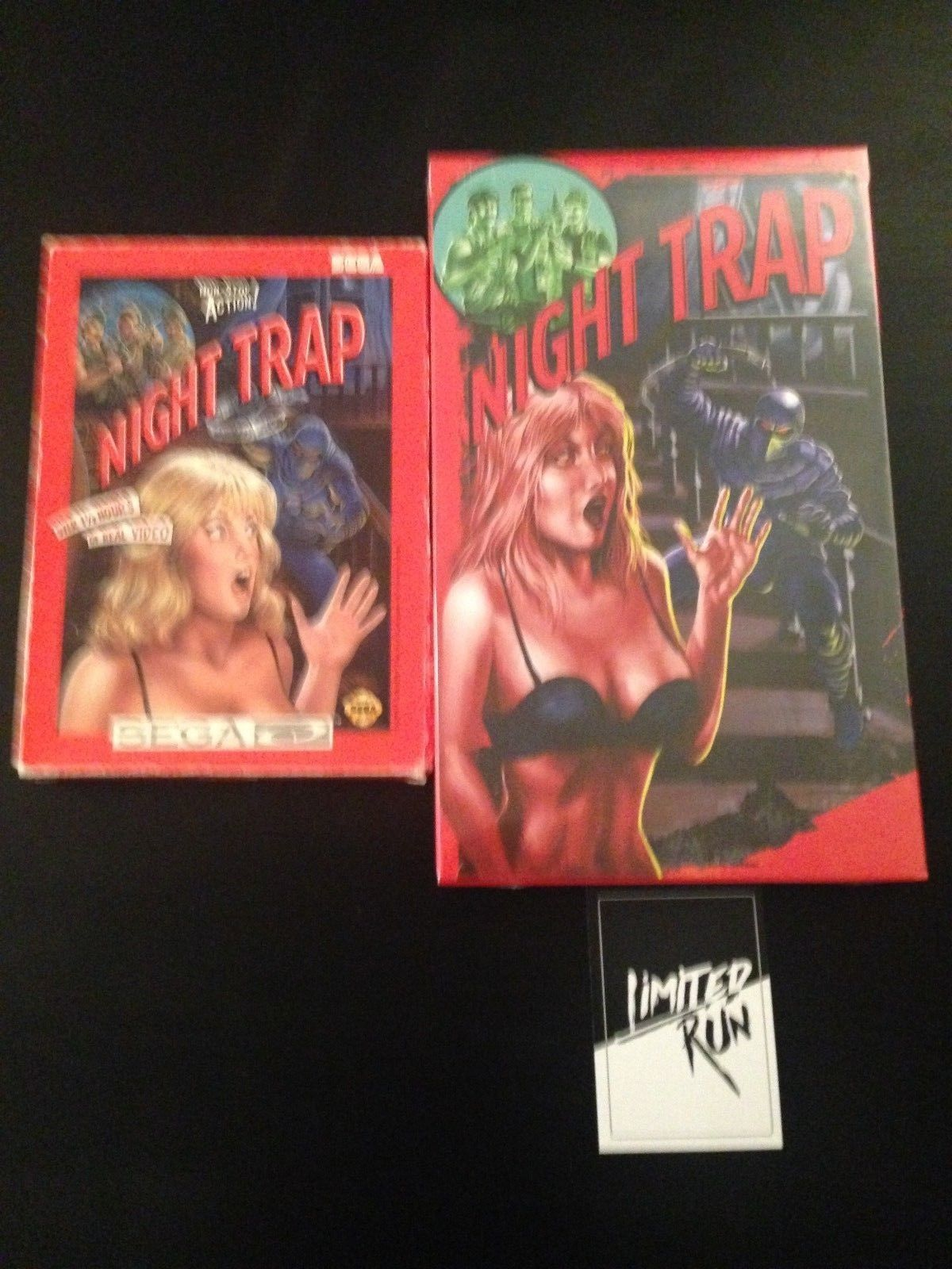 Night Trap Sega CD and Limited Run Games Edition