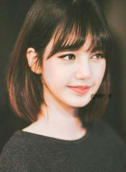 Hair Bangs Short Korean 43 Best Ideas Korean Short Hair Short Hair With Bangs Short Hair Styles