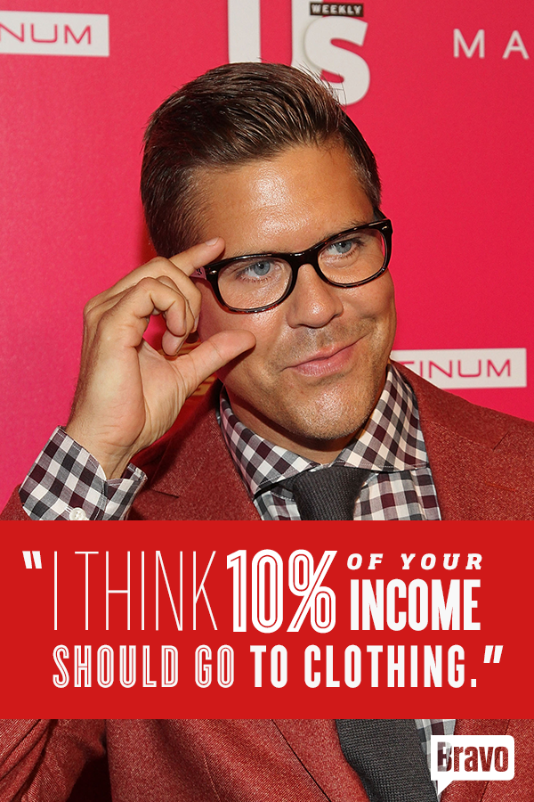 The 'MDLNY' star reveals how much he pays for a haircut—and how much you should be spending on your wardrobe. See all his rules for success now!