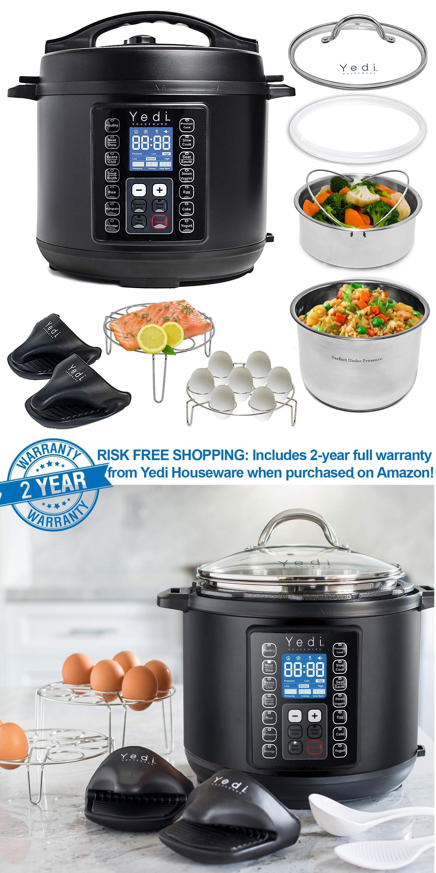Yedi 9-in-1 Total Package Instant Programmable Pressure