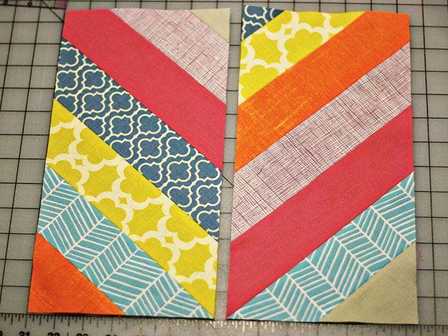 quilt patterns for herringbone | Pattern - Herringbone Block from ...