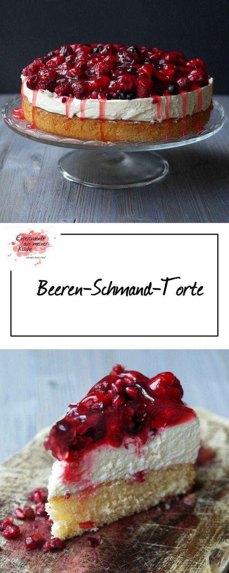 Beerentorte mit Schmand | Pinterest | Experimente aus meiner küche ...