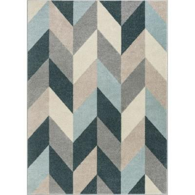 Well Woven Mystic Porter Modern Bohemian Vintage Southwestern Blue 7 ft. 10 in. x 9 ft. 10 in. Area Rug-MC-264-7 - The Home Depot #setinstains