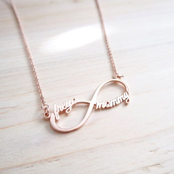 Cute Customized Infinity Name Necklace Infinity Shape Necklace Infinity Symbol Necklace Inf Infinity Necklace Gold Infinity Necklace Infinity Symbol Necklace