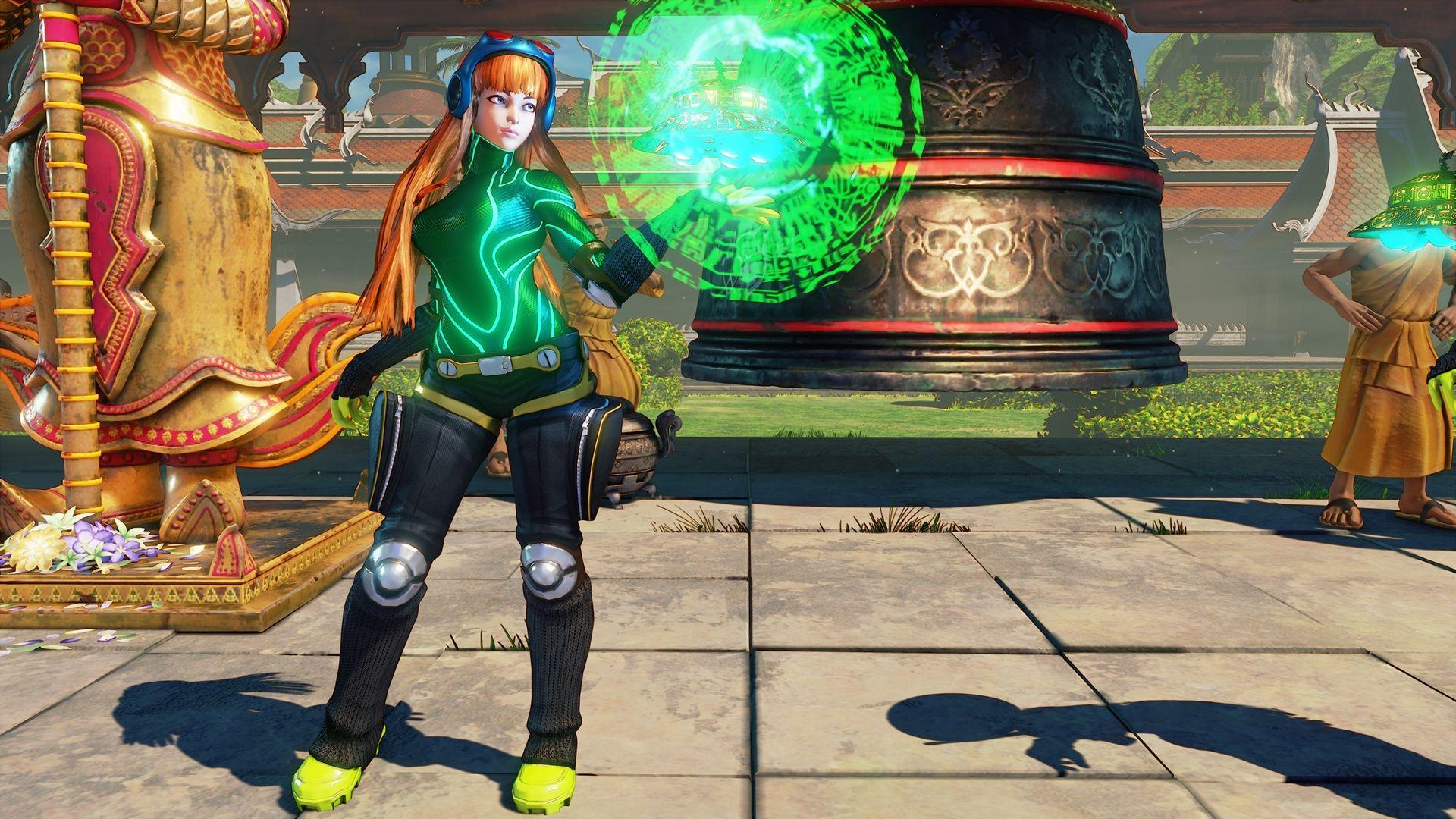 Videogame Street Fighter V Street Fighter Futaba Sakura Menat Hd