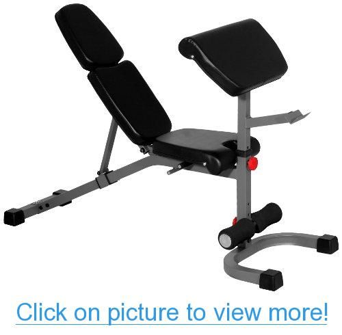 Winado Folding Weight Bench Adjustable Incline Decline Exercise Bench For Body Workout Strengthen Muscl Weight Benches Fitness Body Adjustable Workout Bench