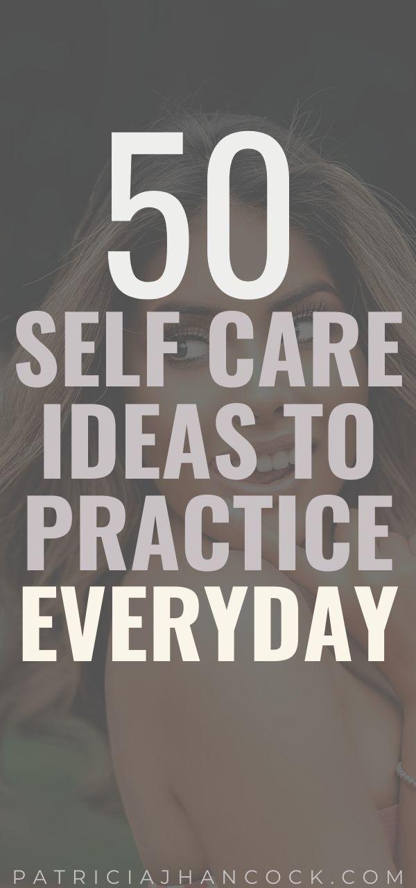 Üben Sie Self Care   – Self-Improvement Group Board ❤