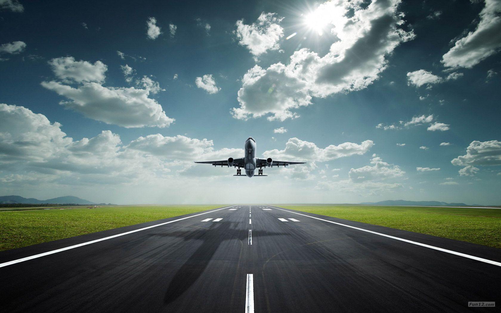 Fond d'écran hd piste avion Fond d'écran avion, Billet