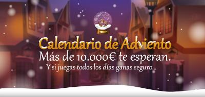 tombola gana seguro con el calendario de navidad 1-24 diciembre