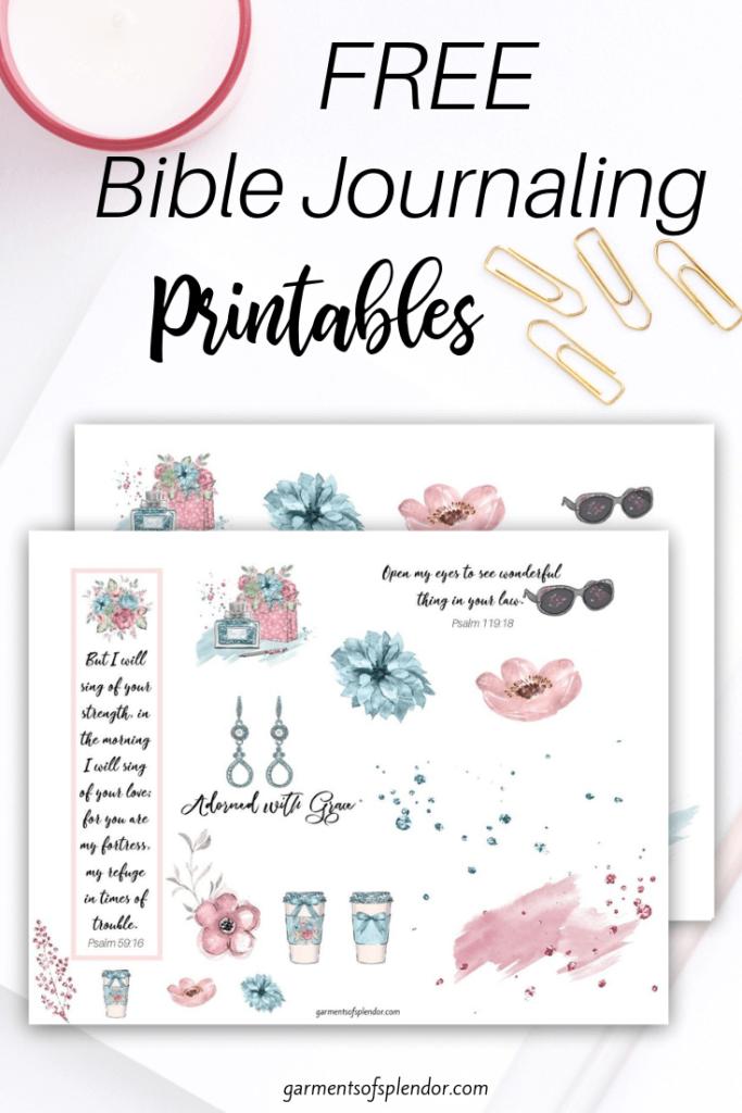 List of Free Bible Journaling Printables | Bible Journaling