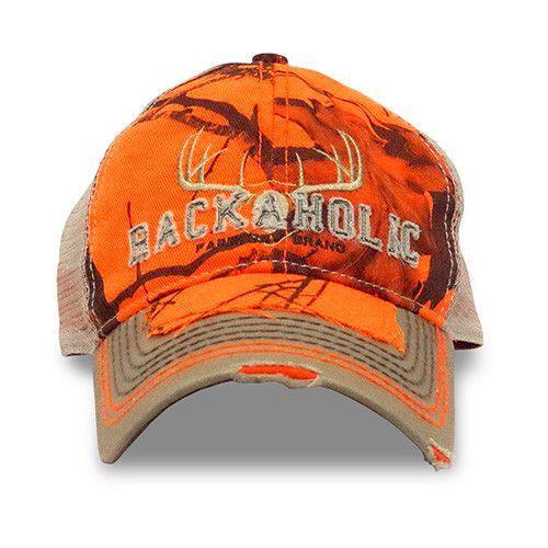 """Farm Boy Co-Op """"Rackaholic"""" Blaze Orange Ball Cap"""