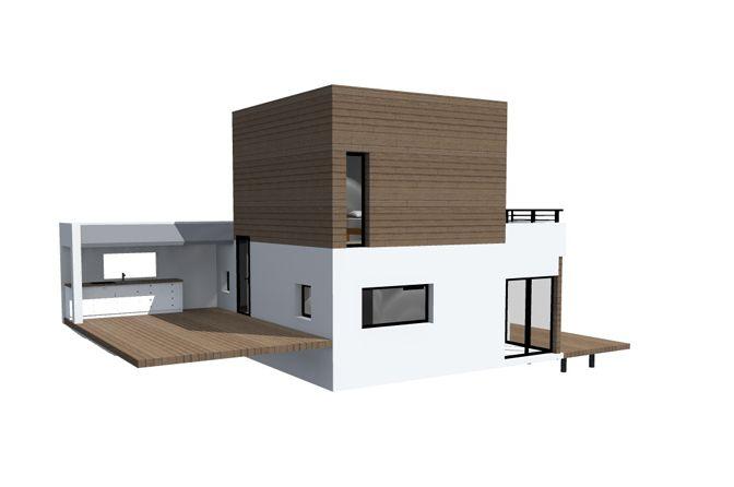 extension maison jacuzzi a lu0027étage terrasse - Recherche Google