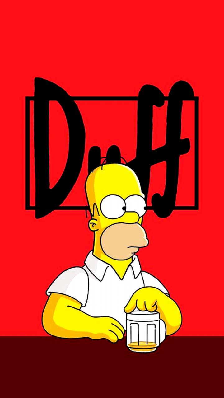 Wallpaper In 2020 Homer Simpson The Simpsons Simpson Wallpaper Iphone