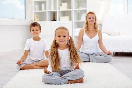 how to meditate with children  stress relief wizard