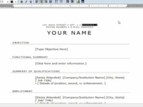 A step by step guide to writing a resume for beginners The - first time resumes