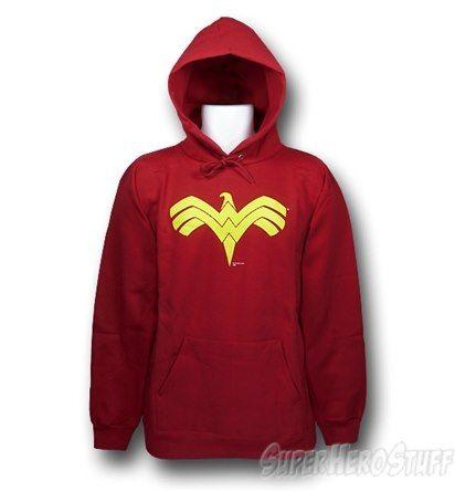 Wonder Woman Red Eagle Hoodie