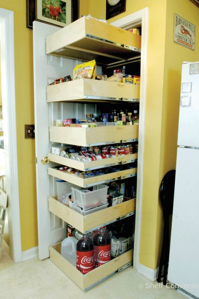 Shelf Genie | Storage Wars | Pull Out Pantry Shelves ...